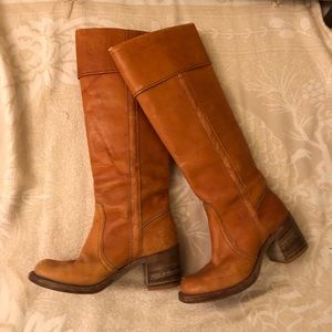 Frye vintage Motorcycle Boots